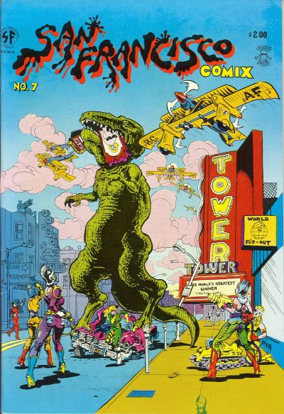 Cover for San Francisco Comic Book (Last Gasp, 1981 series) #7