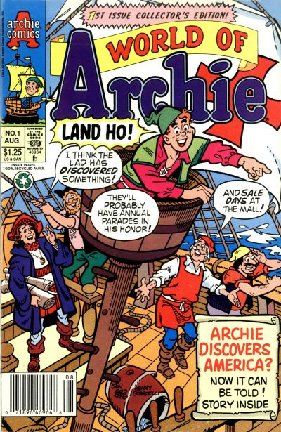 Cover for World of Archie (Archie, 1992 series) #1 [Direct]
