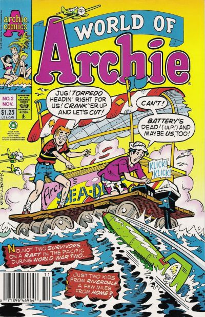 Cover for World of Archie (Archie, 1992 series) #2