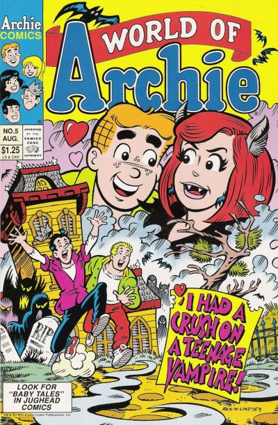 Cover for World of Archie (Archie, 1992 series) #5