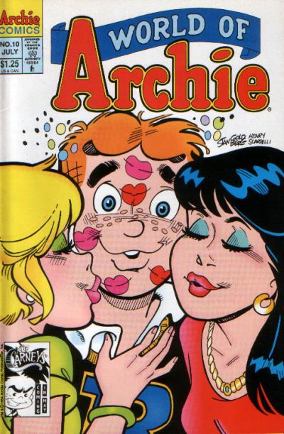 Cover for World of Archie (Archie, 1992 series) #10