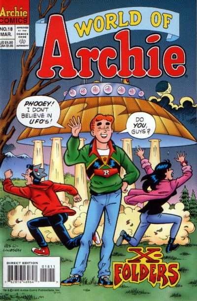 Cover for World of Archie (Archie, 1992 series) #18