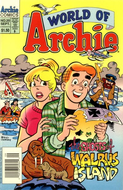 Cover for World of Archie (Archie, 1992 series) #20
