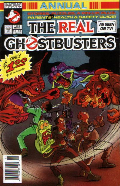 Cover for Real Ghostbusters Annual (Now, 1992 series) #1992