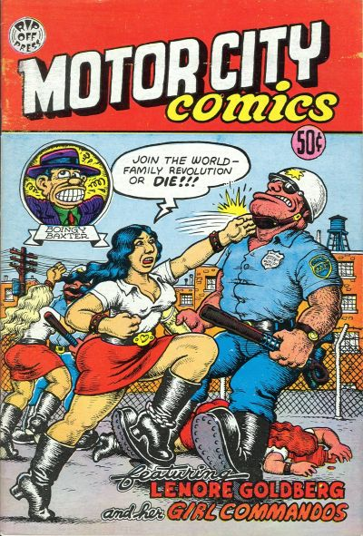 Cover for Motor City Comics (Rip Off Press, 1969 series) #1 [0.75 USD 6th print]
