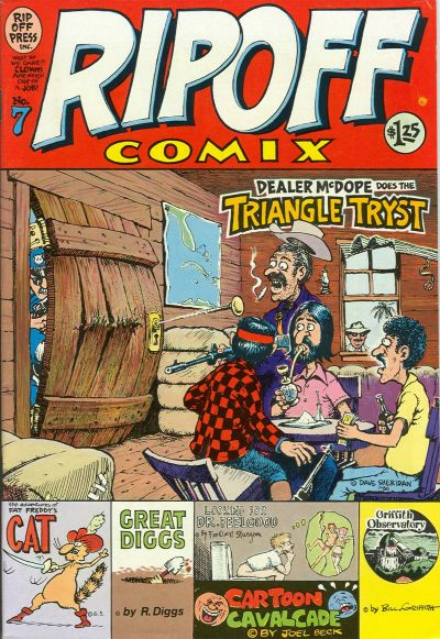 Cover for Rip Off Comix (Rip Off Press, 1977 series) #7