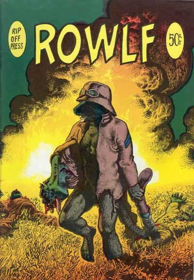 Cover for Rowlf (Rip Off Press, 1971 series)  [1st print - Wizard]