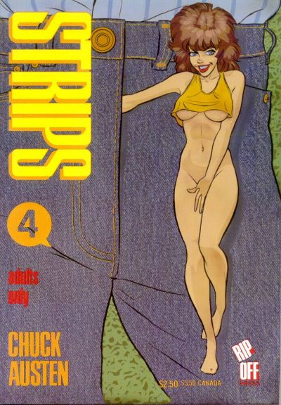 Cover for Strips (Rip Off Press, 1989 series) #4