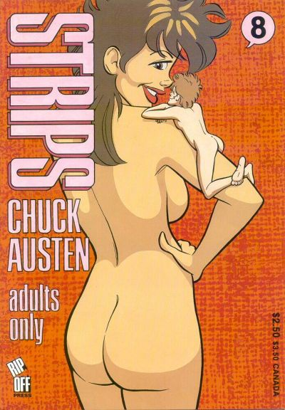 Cover for Strips (Rip Off Press, 1989 series) #8