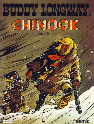 Cover for Buddy Longway (Semic, 1979 series) #1 - Chinook