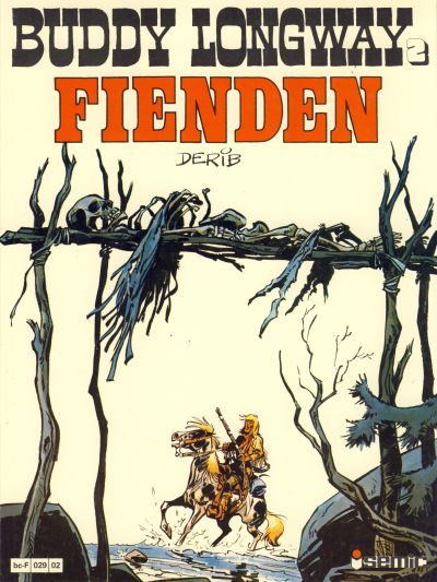 Cover for Buddy Longway (Semic, 1979 series) #2 - Fienden