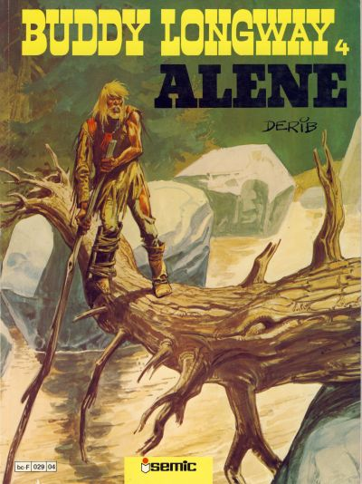 Cover for Buddy Longway (Semic, 1979 series) #4 - Alene