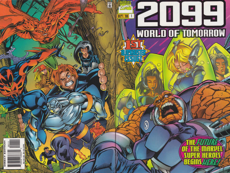 Cover for 2099: World of Tomorrow (Marvel, 1996 series) #1