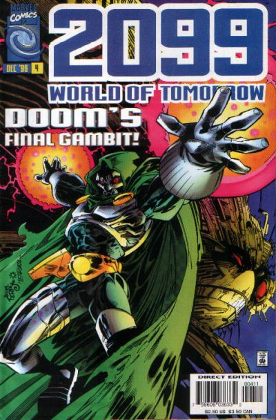 Cover for 2099: World of Tomorrow (Marvel, 1996 series) #4