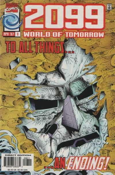 Cover for 2099: World of Tomorrow (Marvel, 1996 series) #8