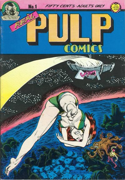 Cover for Real Pulp Comics (The Print Mint Inc, 1971 series) #1