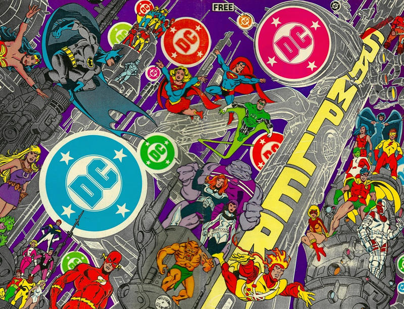 Cover for DC Sampler (DC, 1983 series) #1