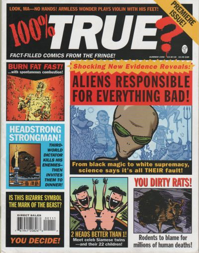 Cover for 100% True? (DC, 1996 series) #1