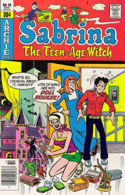 Cover for Sabrina, the Teenage Witch (Archie, 1971 series) #49