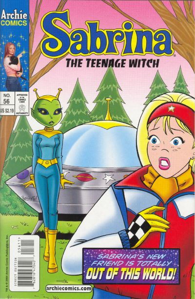 Cover for Sabrina the Teenage Witch (Archie, 2003 series) #56