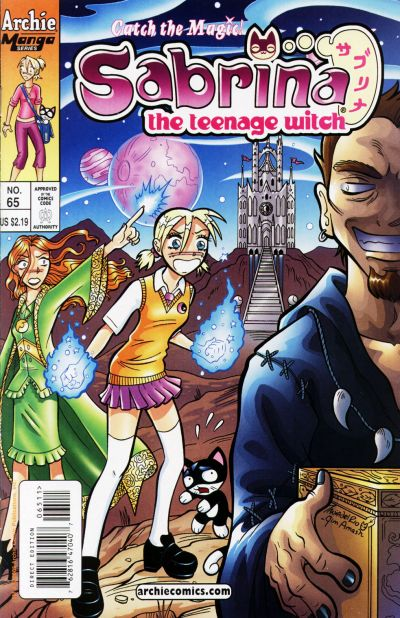 Cover for Sabrina the Teenage Witch (Archie, 2003 series) #65