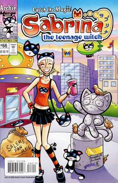 Cover for Sabrina the Teenage Witch (Archie, 2003 series) #66