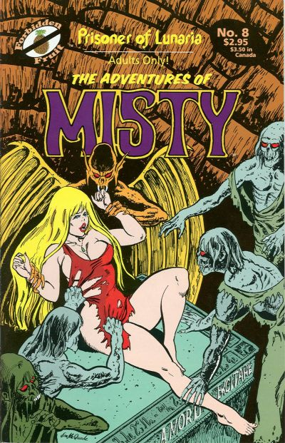 Cover for The Adventures of Misty (Apple Press, 1991 series) #8