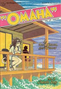 Cover Thumbnail for Omaha the Cat Dancer (SteelDragon Press, 1984 series) #2