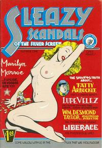 Cover Thumbnail for Sleazy Scandals of the Silver Screen (Kitchen Sink Press, 1978 series) #1
