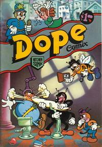Cover Thumbnail for Dope Comix (Kitchen Sink Press, 1978 series) #1 [1st print 1.00 USD]