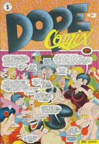 Cover Thumbnail for Dope Comix (Kitchen Sink Press, 1978 series) #3