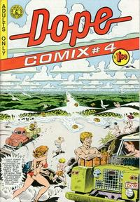Cover Thumbnail for Dope Comix (Kitchen Sink Press, 1978 series) #4