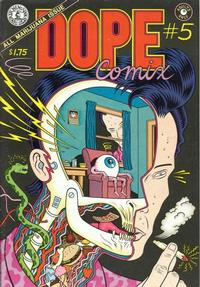 Cover Thumbnail for Dope Comix (Kitchen Sink Press, 1978 series) #5