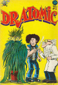 Cover Thumbnail for Dr. Atomic (Last Gasp, 1972 series) #1 [3rd print 0.75 USD]