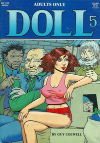 Cover Thumbnail for Doll (Rip Off Press, 1989 series) #5