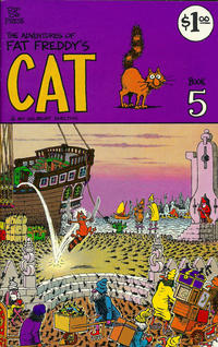 Cover Thumbnail for Fat Freddy's Cat (Rip Off Press, 1977 series) #5