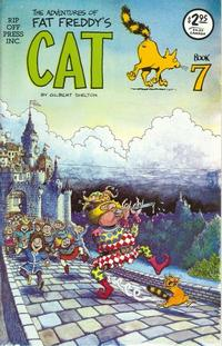 Cover Thumbnail for Fat Freddy's Cat (Rip Off Press, 1977 series) #7