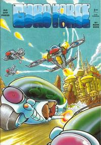 Cover Thumbnail for Gyro Force (Rip Off Press, 1987 series) #[nn]