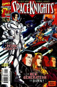 Cover Thumbnail for Spaceknights (Marvel, 2000 series) #1