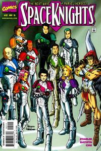 Cover Thumbnail for Spaceknights (Marvel, 2000 series) #2
