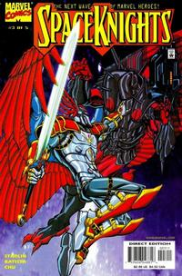 Cover Thumbnail for Spaceknights (Marvel, 2000 series) #3