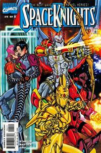 Cover Thumbnail for Spaceknights (Marvel, 2000 series) #4