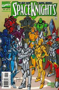 Cover Thumbnail for Spaceknights (Marvel, 2000 series) #5