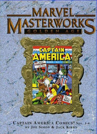 Cover Thumbnail for Marvel Masterworks: Golden Age Captain America (Marvel, 2005 series) #1 (43) [Limited Variant Edition]
