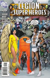 Cover Thumbnail for Legion of Super-Heroes (DC, 2005 series) #15