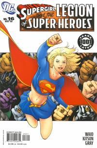 Cover Thumbnail for Supergirl and the Legion of Super-Heroes (DC, 2006 series) #16