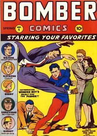 Cover Thumbnail for Bomber Comics (Elliot, 1944 series) #1