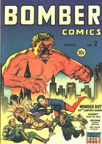 Cover Thumbnail for Bomber Comics (Elliot, 1944 series) #2