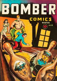 Cover Thumbnail for Bomber Comics (Elliot, 1944 series) #4