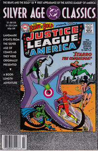 Cover Thumbnail for DC Silver Age Classics The Brave and the Bold 28 (DC, 1992 series)